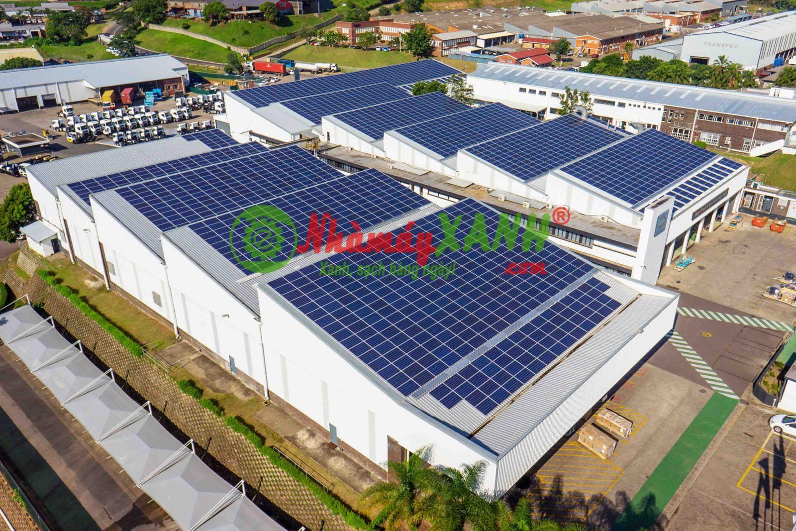 Nở rộ công trình nhà máy xanh