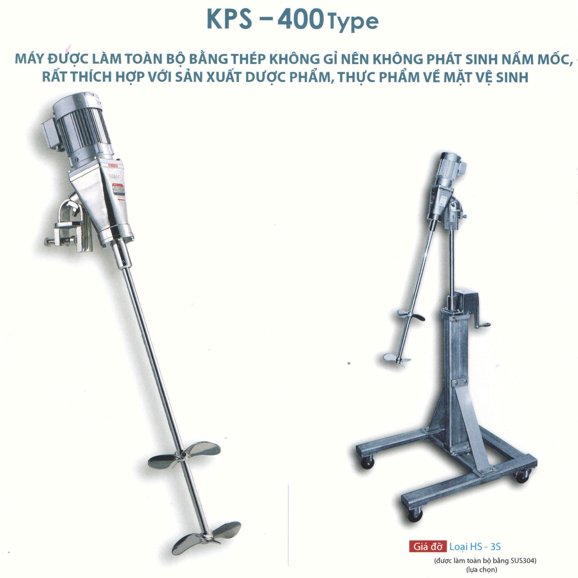 Máy khuấy Hanwa KPS-400 Full